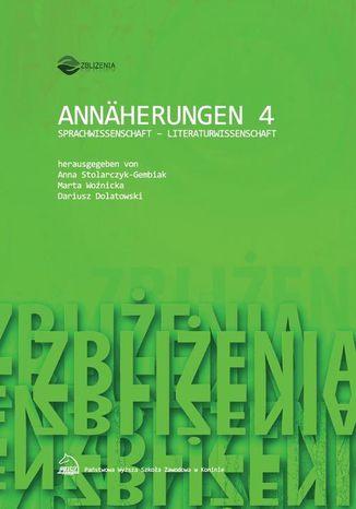 Okładka książki Annäherungen 4: SPRACHWISSENSCHAFT  LITERATURWISSENSCHAFT
