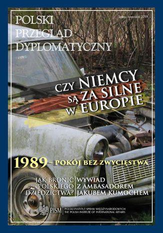 Okładka książki Polski Przegląd Dyplomatyczny 3/2019
