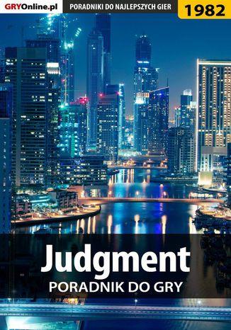 Okładka książki Judgment - poradnik do gry