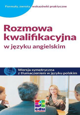 Okładka książki/ebooka Rozmowa kwalifikacyjna w języku angielskim