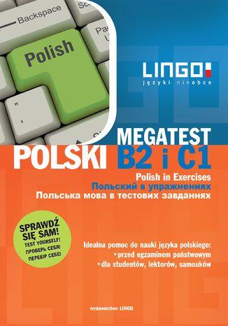 Okładka książki/ebooka Polski B2 i C1. Megatest