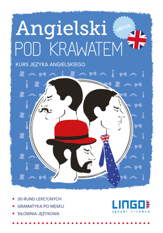 Okładka książki/ebooka Angielski pod krawatem