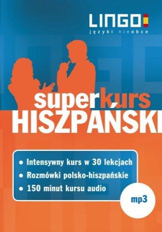 Okładka książki/ebooka Hiszpański. Superkurs