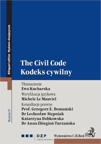 Okładka książki/ebooka Kodeks cywilny. The civil code. Wydanie 4