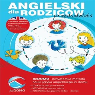 Okładka książki Angielski dla rodziców przedszkolaka. deDOMO