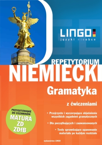 Okładka książki Niemiecki. Gramatyka z ćwiczeniami. Repetytorium