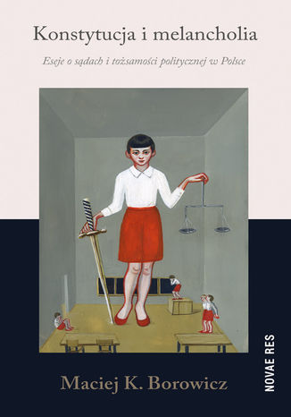 Okładka książki/ebooka Konstytucja i melancholia