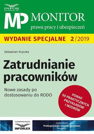 Okładka książki Zatrudnianie pracowników Nowe zasady po dostosowaniu RODO