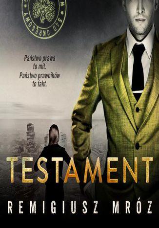 Okładka książki/ebooka Testament. Joanna Chyłka. Tom 7