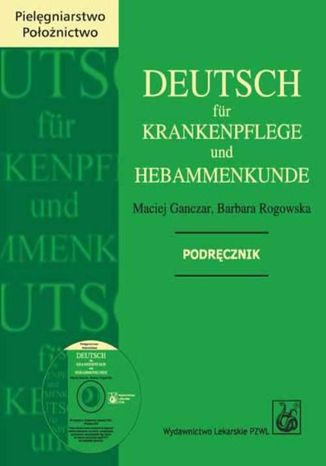 Okładka książki/ebooka Deutsch fur Krankenpflege und Hebammenkunde