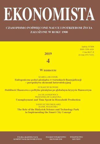 Okładka książki Ekonomista 2019 nr 4