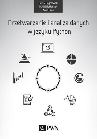 Okładka książki Przetwarzanie i analiza danych w języku Python