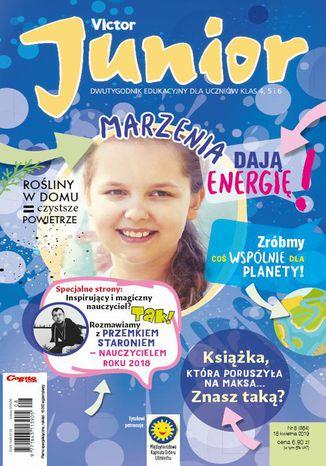 Okładka książki/ebooka Victor Junior nr 8 (384) 18 kwietnia 2019
