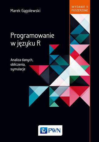 Okładka książki Programowanie w języku R