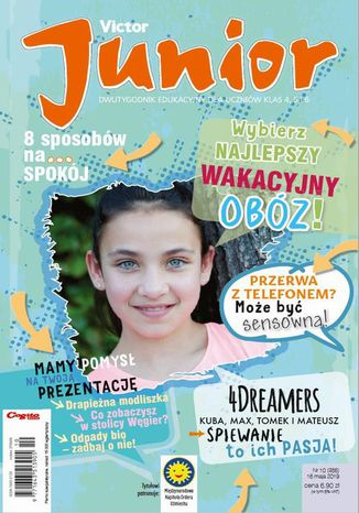 Okładka książki/ebooka Victor Junior nr 10 (386) 16 maja 2019