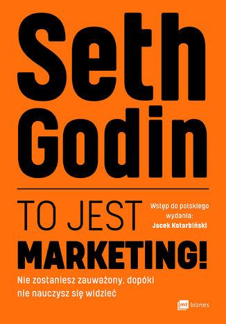 Okładka książki/ebooka To jest marketing!