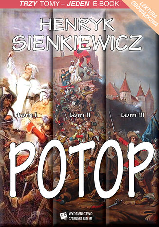 Okładka książki/ebooka Potop - tomy I-III