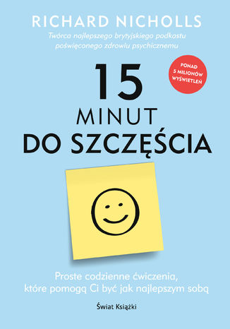 Okładka książki/ebooka 15 minut do szczęścia