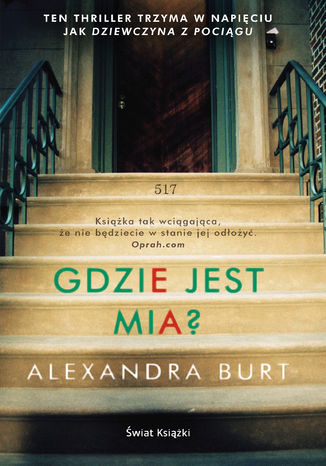 Okładka książki/ebooka Gdzie jest Mia?