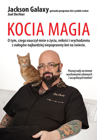 Okładka książki Kocia magia