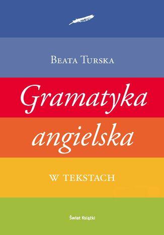 Okładka książki/ebooka Gramatyka angielska w tekstach