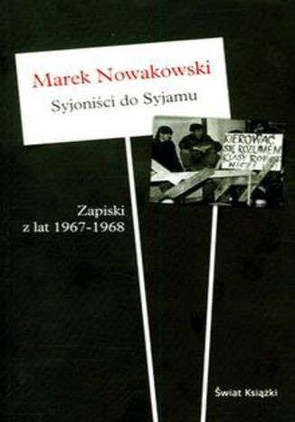Okładka książki Syjoniści do Syjamu