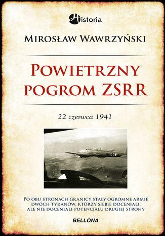 Okładka książki/ebooka Powietrzny pogrom ZSRR. 22 czerwca 1941