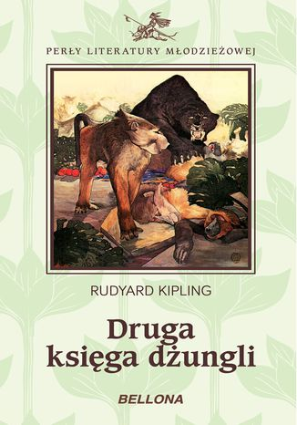 Okładka książki Druga księga dżungli