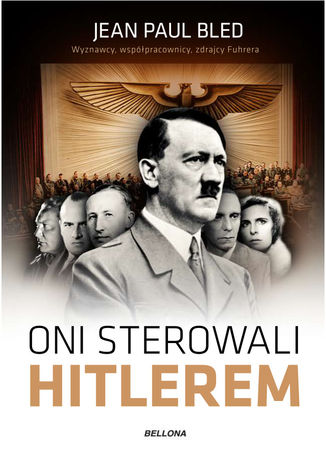 Okładka książki Oni sterowali Hitlerem