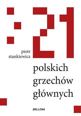 Okładka książki 21 polskich grzechów głównych