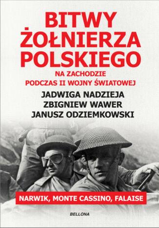 Okładka książki/ebooka Bitwy żołnierza polskiego na Zachodzie. Narwik, Monte Cassino, Falaise