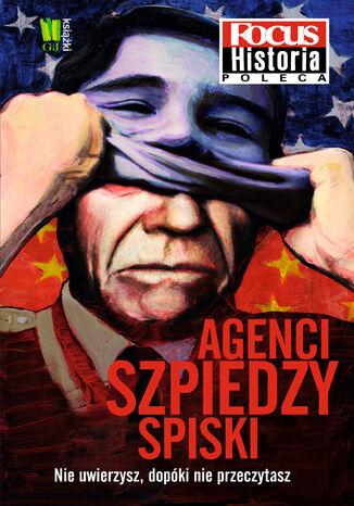 Okładka książki Agenci szpiedzy spiski