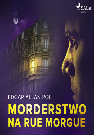 Okładka książki/ebooka Morderstwo na Rue Morgue