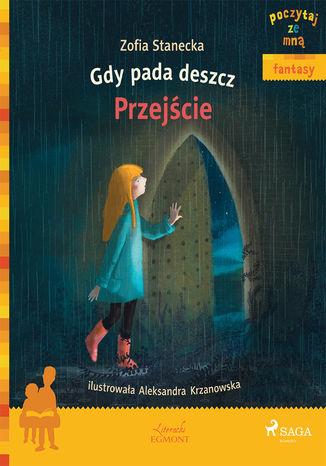 Okładka książki Gdy pada deszcz - Przejście