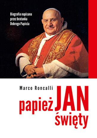 Okładka książki Papież Jan Święty