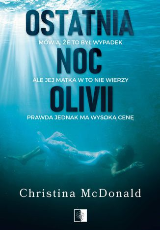 Okładka książki/ebooka Ostatnia noc Olivii
