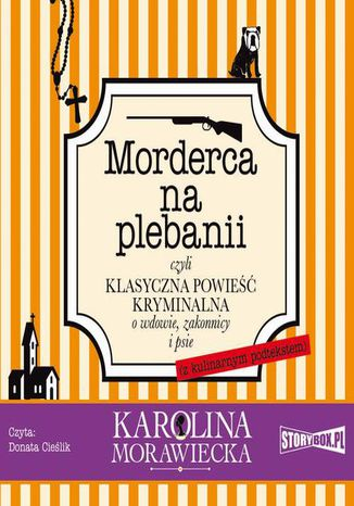 Okładka książki Morderca na plebanii