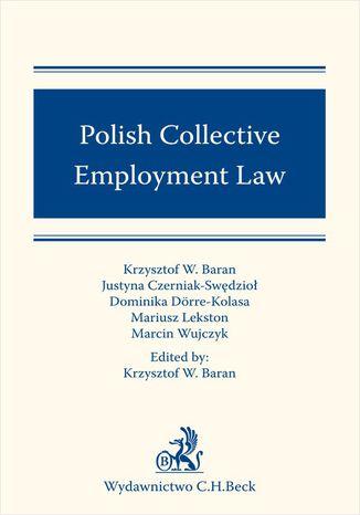 Okładka książki/ebooka Polish Collective Employment Law