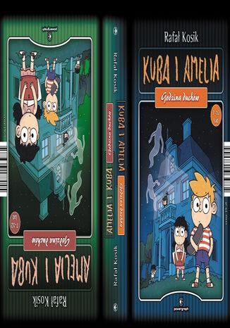 Okładka książki Amelia i Kuba. Kuba i Amelia. Godzina duchów. Dwuksiążka
