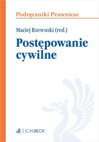 Okładka książki/ebooka Postępowanie cywilne. Wydanie 1