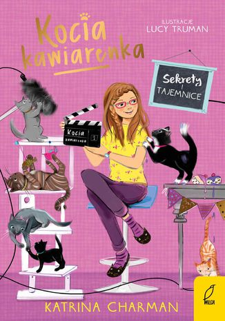 Okładka książki/ebooka Kocia kawiarenka. Sekrety i tajemnice. Tom 4
