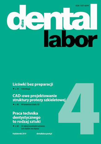 Okładka książki/ebooka Dental Labor 4/2019