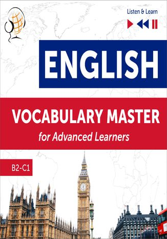 Okładka książki/ebooka English Vocabulary Master for Advanced Learners - Listen & Learn (Proficiency Level B2-C1)