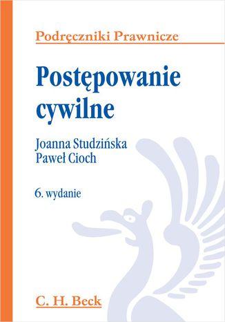 Okładka książki/ebooka Postępowanie cywilne. Wydanie 6
