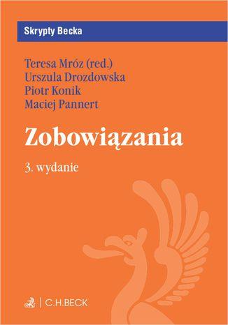 Okładka książki/ebooka Zobowiązania. Wydanie 3