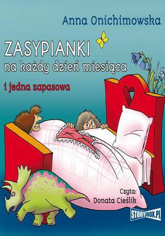 Okładka książki/ebooka Zasypianki na każdy dzień miesiąca