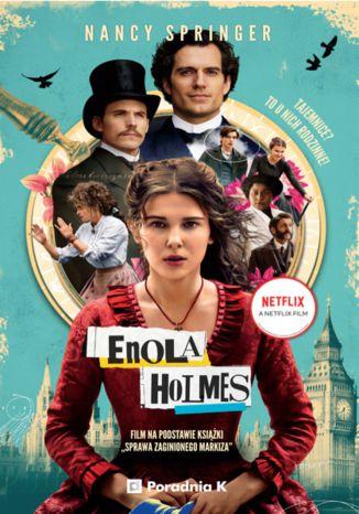 Okładka książki/ebooka Enola Holmes. Sprawa zaginionego markiza. Tom 1