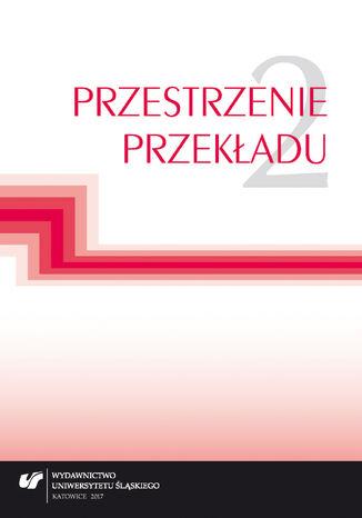 Okładka książki Przestrzenie przekładu T. 2