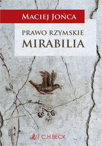 Okładka książki Prawo rzymskie. Mirabilia