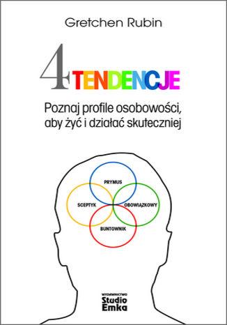 Okładka książki/ebooka Cztery tendencje. Poznaj profile osobowości, aby żyć i działać skuteczniej